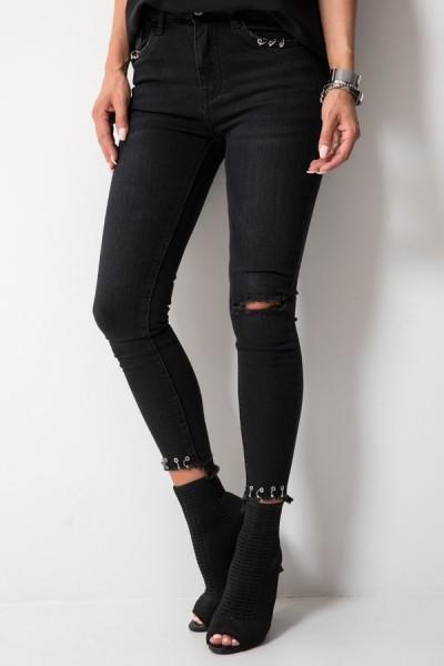 9180 Spodnie Czarne