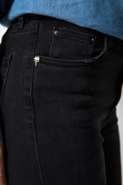 9237 Spodnie Czarne