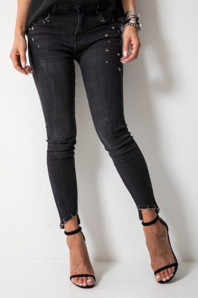 9261 Spodnie Czarne