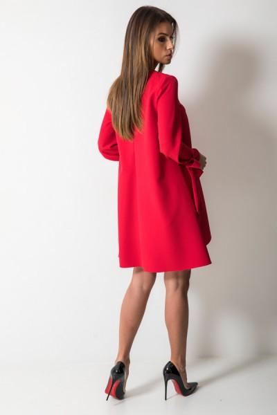 Valerie Sukienka Trapezowa Czerwona