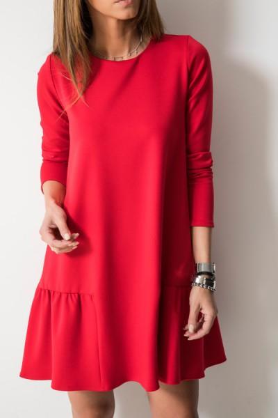Missy Sukienka Czerwona