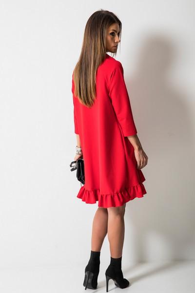 Sukienka Kokardka Czerwona