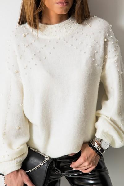 Sweter Pearls Biel