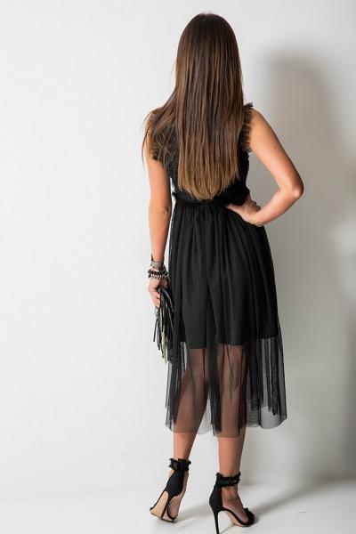 Canella Sukienka Włoska Czarna