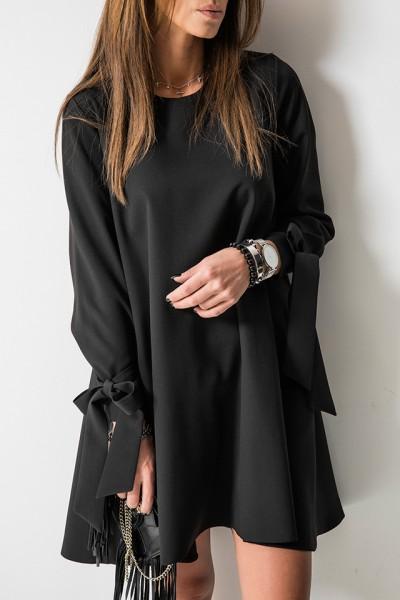 Valerie Sukienka Trapezowa Czarna