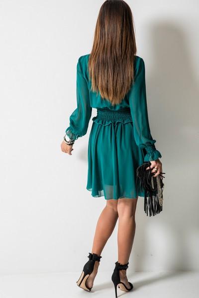 Chelsea Sukienka Szmaragdowa