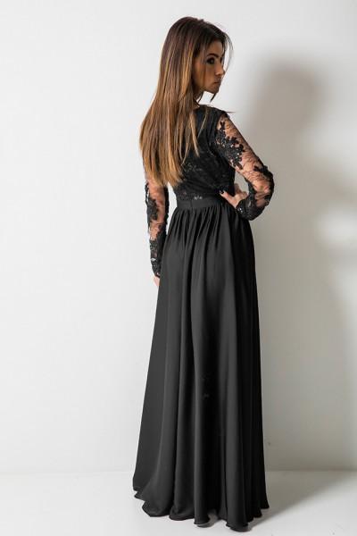 Lady Sukienka Maxi Czarna