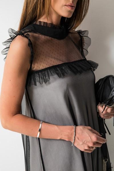 Nina Sukienka Black/Beige