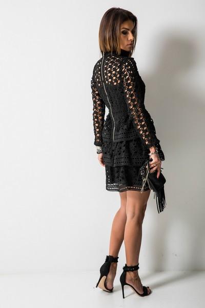 Amelie Sukienka Black