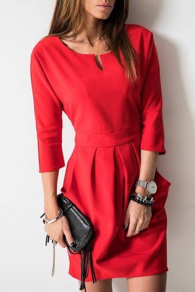 Valentine Sukienka Czerwona