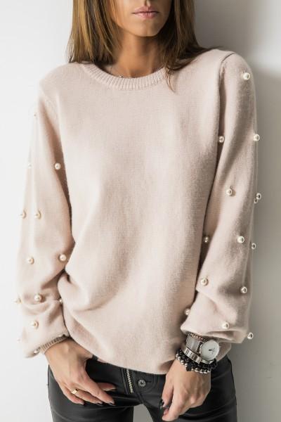 Sweter Perły Róż