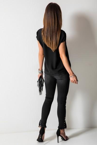 9315 Spodnie Czarne