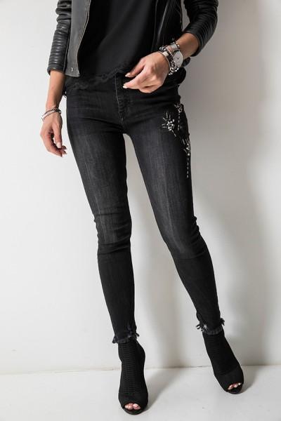 9330 Spodnie Czarne