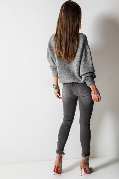 9283 Spodnie Szare