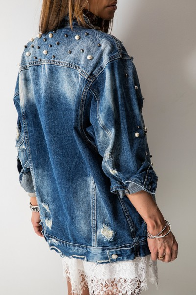 V7714 Katana Perły Jeans