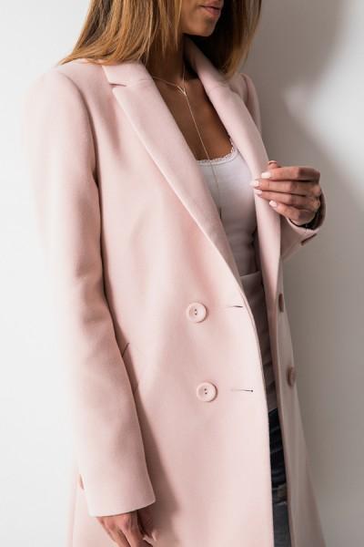 Klasyczny Płaszcz Róż
