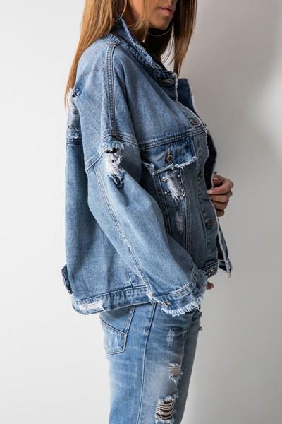 RX129 Kurtka Katana Jeans