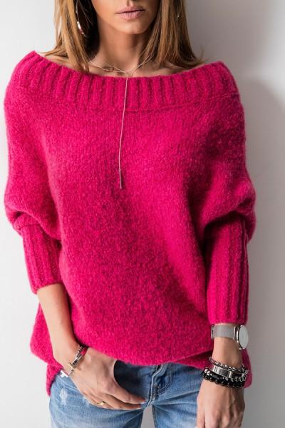 Sweter Logo Amarant