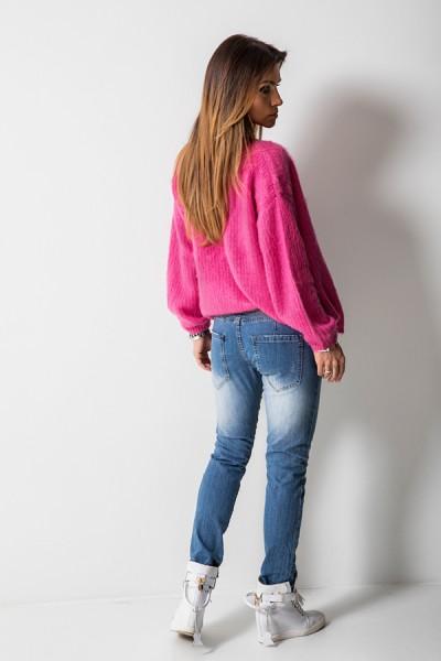 RX1312 Spodnie Boyfriend Jeans