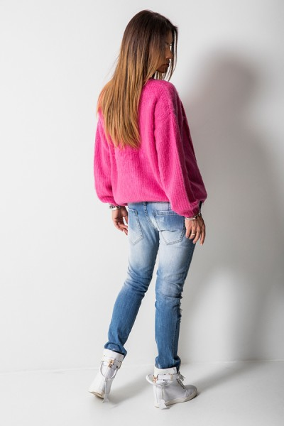 RX1313 Spodnie Boyfriend Jeans