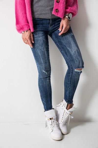 9251 Spodnie Jeansowe