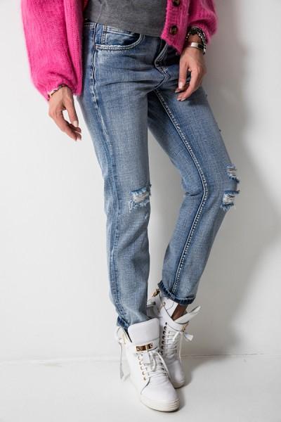 RX1657 Spodnie Boyfriend Jeans