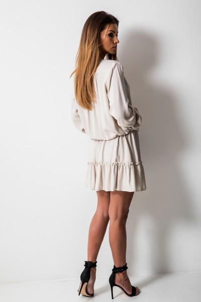 Sally Sukienka Beż