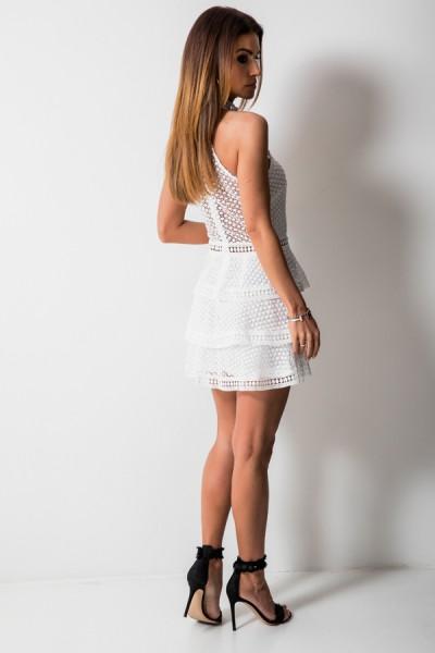 Nicole Sukienka Biel