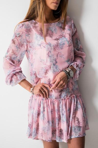 Fabiola Sukienka Kwiaty Róż