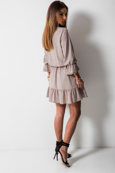 Nadia Sukienka Wstążka Cappucino