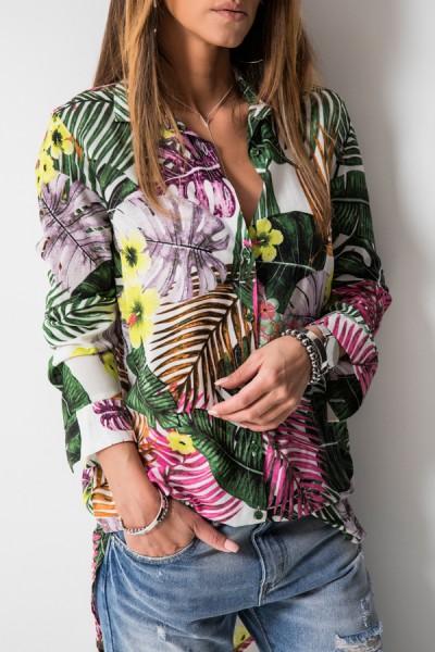 Klasyczna Koszula Tropical