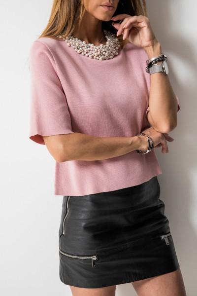 Livia Bluzka Pearls Róż