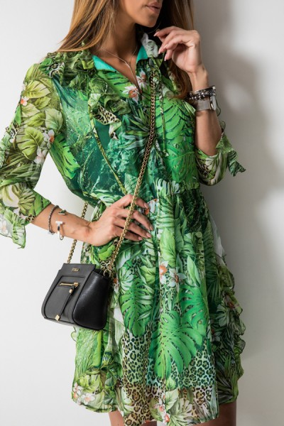 Sukienka Tropical Print