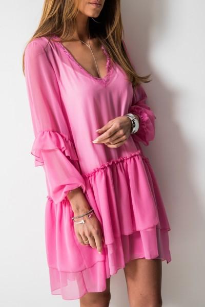 Tina Sukienka Trapezowa Róż