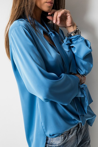 Monique Bluzka Niebieska