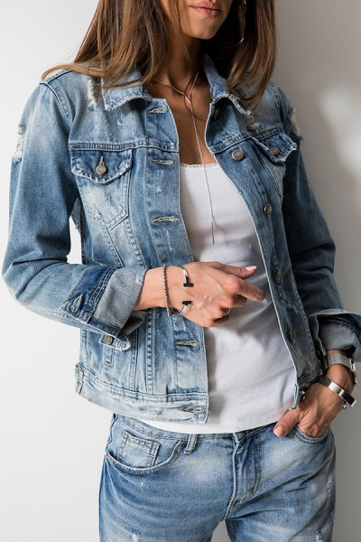 RX1307 Kurtka Katana Jeans