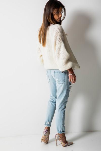 DY056 Spodnie Boyfriend Jeans