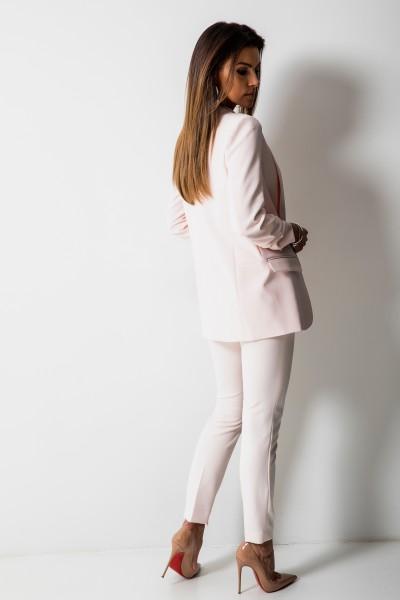 Bristol Eleganckie Spodnie Róż