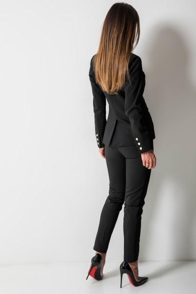 Denver Spodnie Czarne
