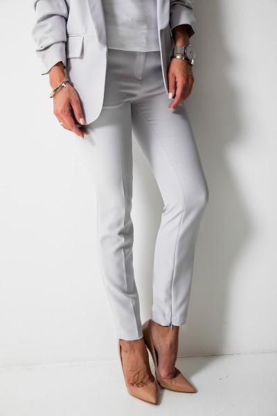 Bristol Eleganckie Spodnie Szare