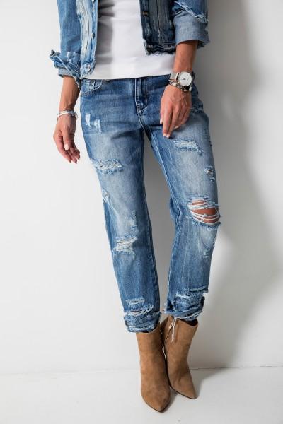 CM5807 Spodnie Boyfriend Jeans
