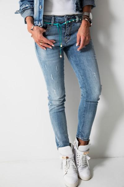 DY330 Spodnie Boyfriend Jeans