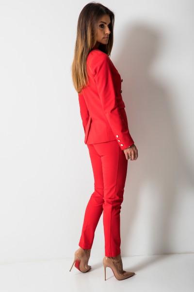 Denver Spodnie Czerwone