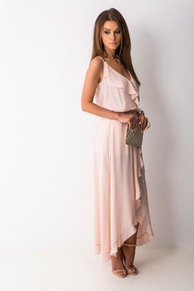 Scarlett Sukienka Maxi Róż