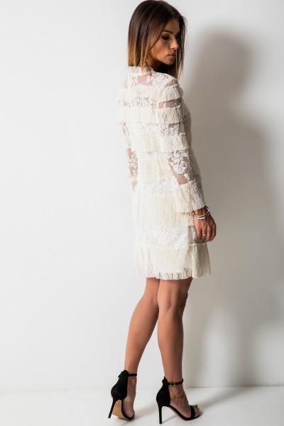 Marsala Sukienka Ecru
