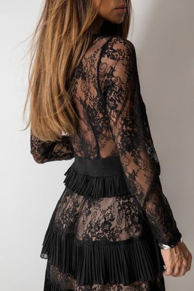 Vivienne Sukienka Black/Beige