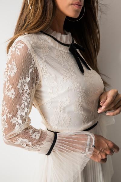 Vanessa Sukienka Ecru