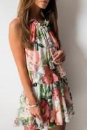 Catrice Sukienka Kwiaty Mini Peach