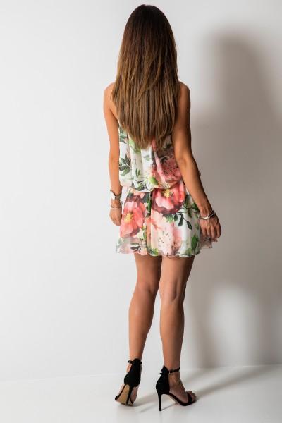 Catrice Sukienka Kwiaty Mini Orange