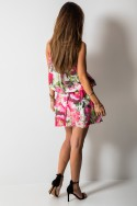 Catrice Sukienka Kwiaty Mini Pink